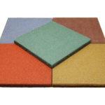 Резиновая плитка 500х500 серия Standart