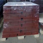 Упаковка терракотовых бордюров