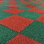 Резиновая плитка для площадок