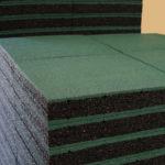 Резиновая плитка ELITPLIT 400х400х40 на складе