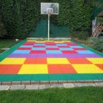Детская площадка с плиткой из ЕПДМ крошки