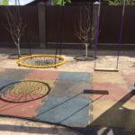 Плитка Puzzle на детской площадке