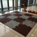 Плитка Rublex Puzzle в зале