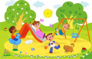 Картинка детской площадки