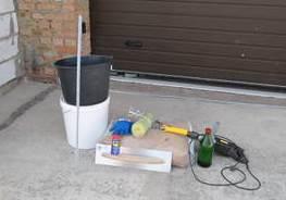 Инструмент для укладки бесшовного покрытия