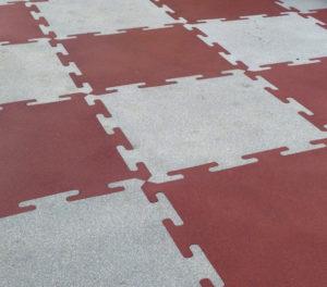 Плитка резиновая Rubblex Puzzle