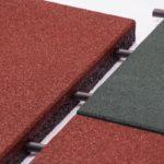 Втулки резиновой плитки