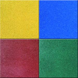 Цветные резиновые плитки