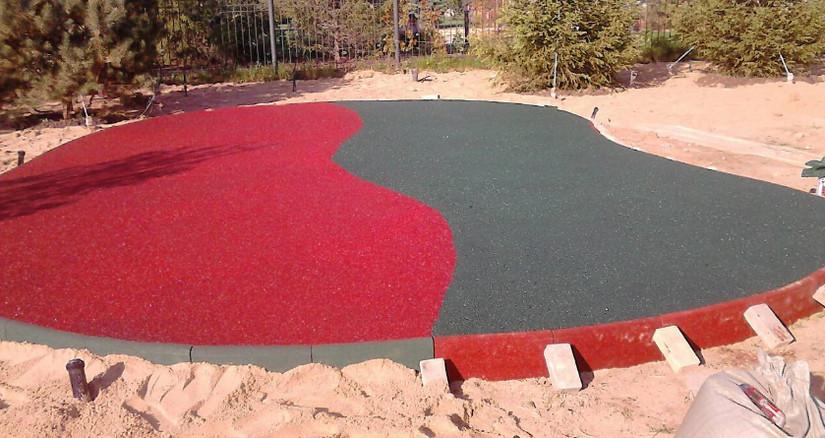 Изготовление площадки