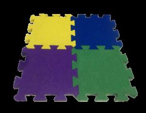 Резиновая плитка Пазл