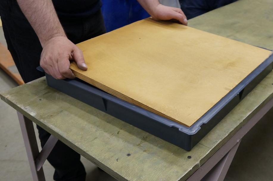 Пресс-форма резиновой плитки