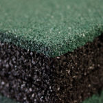 Резиновая плитка макросъемка