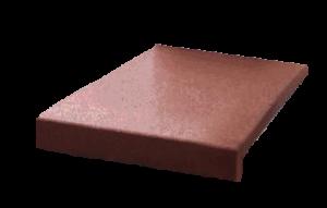 Ступень резиновая коричневая
