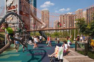 Детская площадка в США