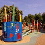 Детская площадка в Будапеште