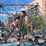 Детский игровой комплекс в Ньюйорке