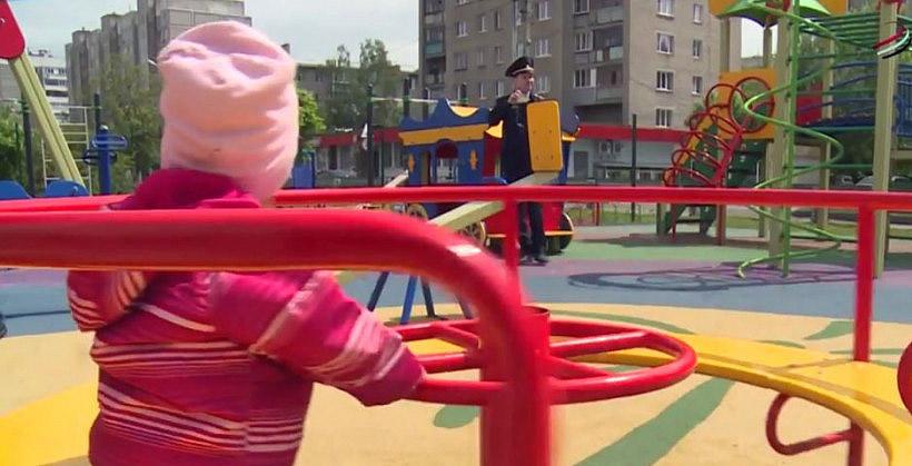 Госадмтехнадзор на детской площадке