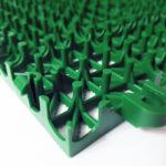 Зеленый полимерный дренажный модуль