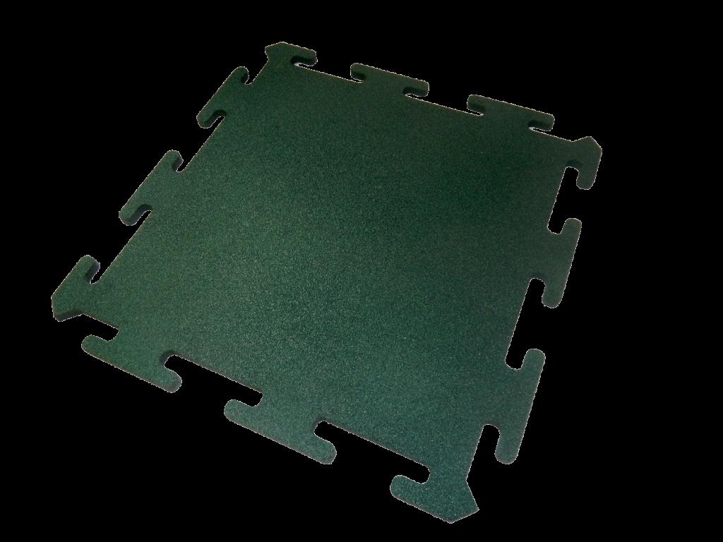 Зеленая плитка пазл 1000х1000х15