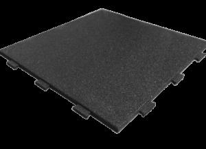 Резиновая плитка 1000х1000 ласточкин хвост