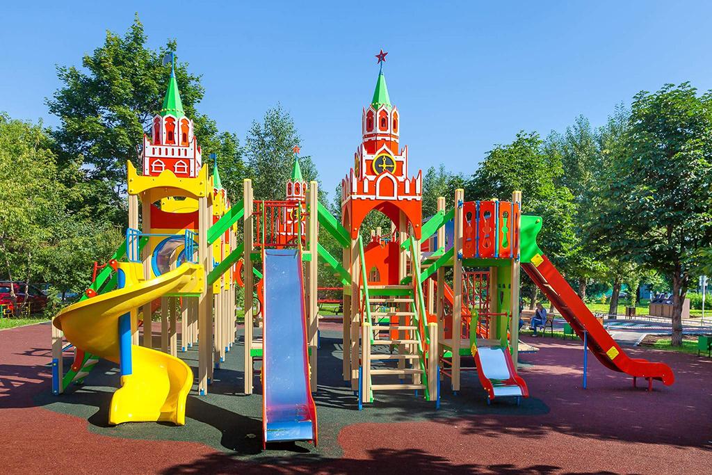 Детская площадка в Марьиной Рощи