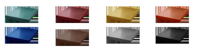 Цветная резиновая плитка для ступеней