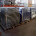 Складирование и хранение резиновой плитки