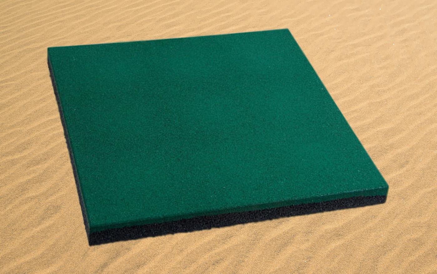 Плитка резиновая 500х500х40