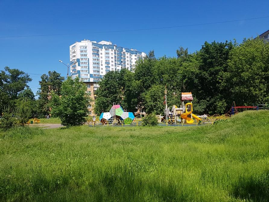 Детская площадка в Подмосковье