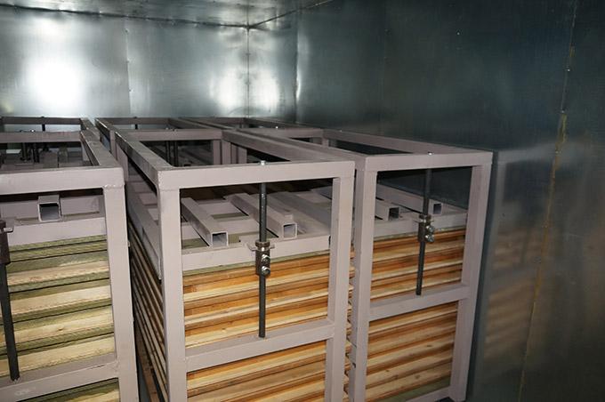 Термобокс для производства резиновой плитки