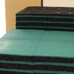 Резиновая плитка ELITPLIT 500х500х40