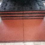 Резиновая плитка 500х500х40 мм с протектором