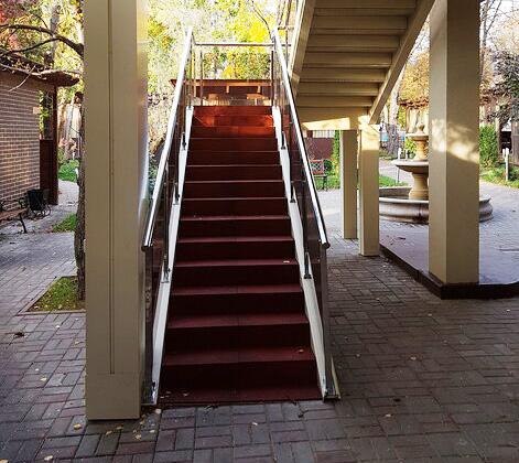 Резиновая лестница
