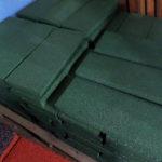Резиновые бордюры на палете