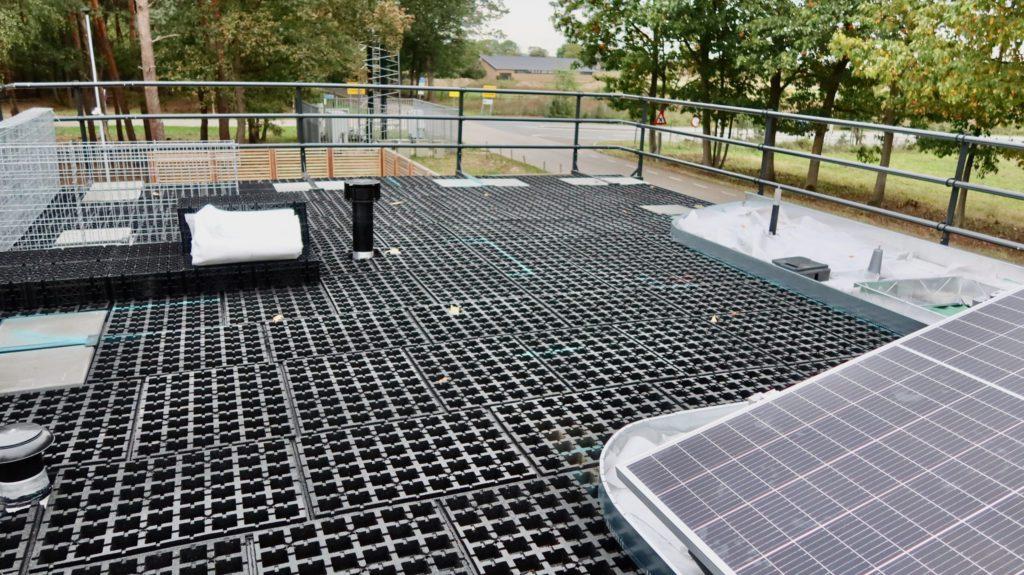 Обустройство зеленой крыши