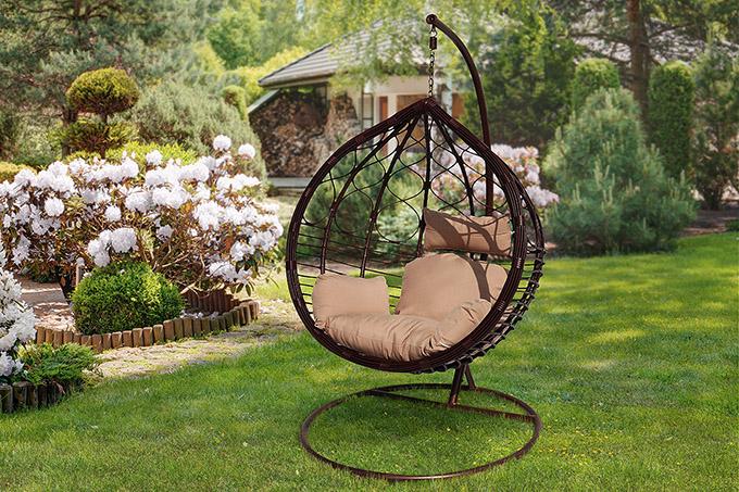 Кресло садовое подвесное для отдыха