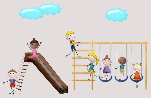 Заставка детская площадка