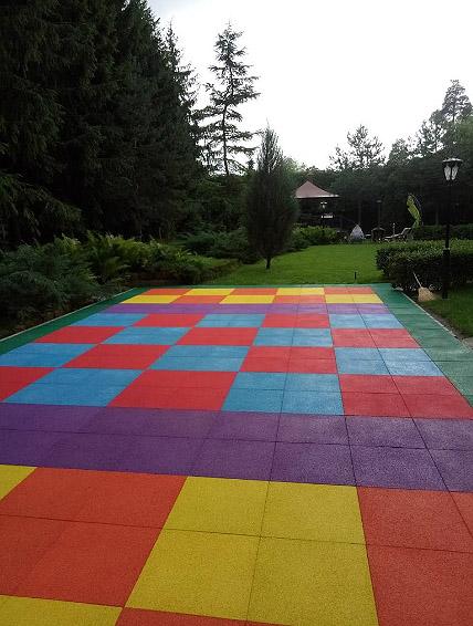 Детская игровая площадка из плитки ELITPLIT