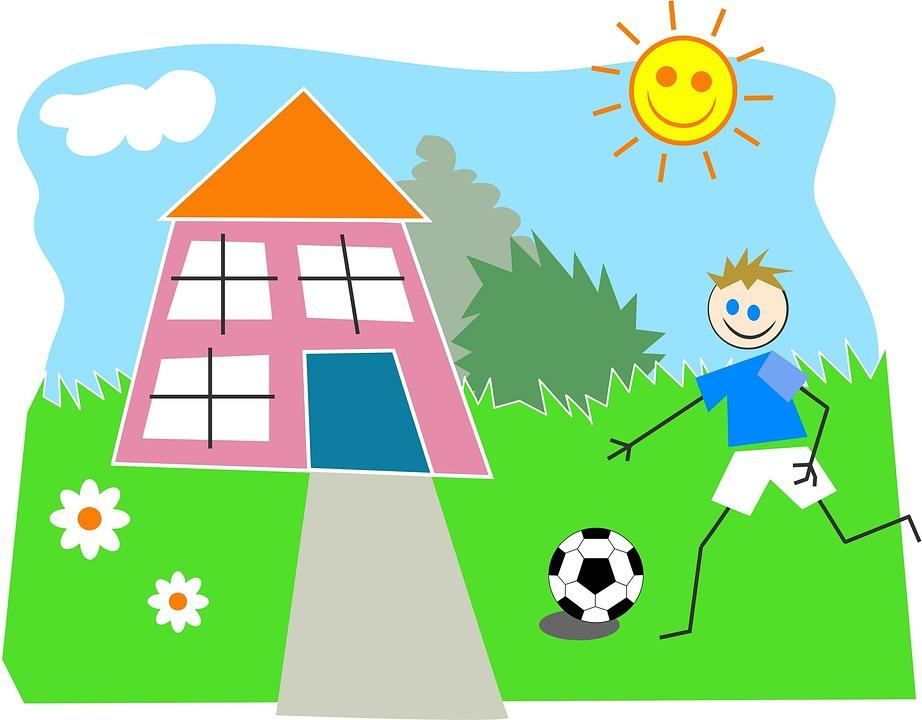 Дачный футбол